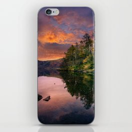 By the Lake Side iPhone Skin