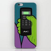 hulk iPhone & iPod Skins featuring hulk by mark ashkenazi