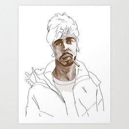 A good man Art Print