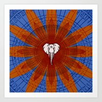 om Art Prints featuring Om by emscrazy8
