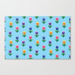 Tulip Print Canvas Print