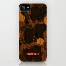 Modern Woodgrain Camouflage / Duck Print iPhone (5, 5s) Slim Case