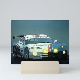 Viper at Le Mans Mini Art Print