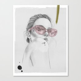 Side Eye Canvas Print