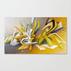 Auf der Lauer - Explosion Canvas Print
