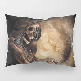 Skeleton Scribe Pillow Sham