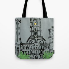 Little City Hall Sketch Tote Bag