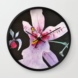 Oncidium dayanum Wall Clock