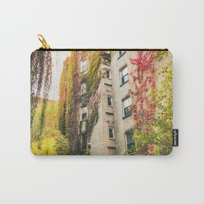 Autumn - New York City - East Village Garden Carry-All Pouch