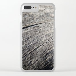 Footprints of a tree Clear iPhone Case