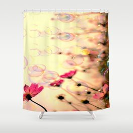 Looking up at the sky Shower Curtain