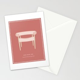 Mid-Century Ring Chair Stationery Cards