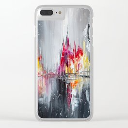 After rain Clear iPhone Case