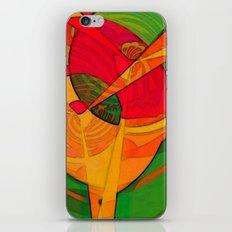 Tropical Farm Woman iPhone & iPod Skin