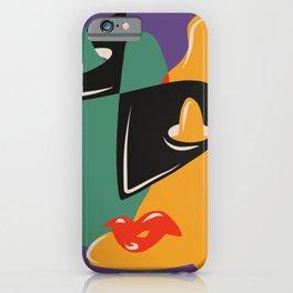 Eyes nose ear lips iPhone Case