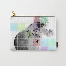 Man on The Moon Abstract Carry-All Pouch