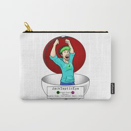 JackSepticEye! I choose you! Carry-All Pouch