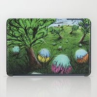 eggs iPad Cases featuring Eggs by chris panila