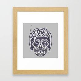 Skull 77 Framed Art Print