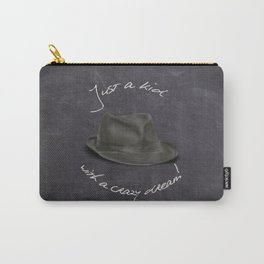 Hat For Leonard, Chalkboard Dreams Carry-All Pouch
