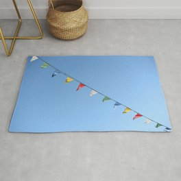 Colorful and minimal party Rug