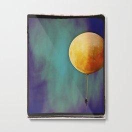 Tethered Moon Metal Print