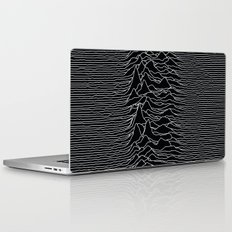 Unknown Radio Waves - Unknown Pleasures Laptop & iPad Skin