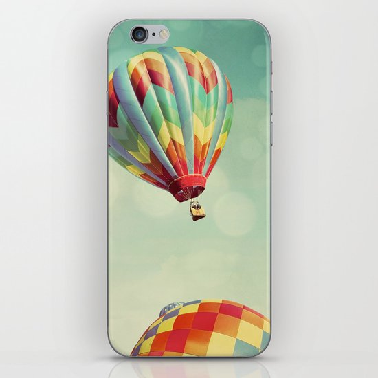 Perfect Dream - Hot Air Balloons iPhone & iPod Skin