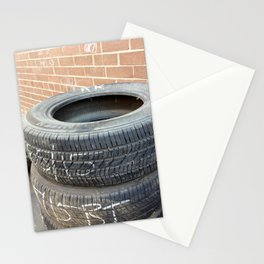 Used Tires Stationery Cards