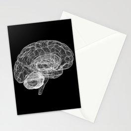 DELAUNAY BRAIN b/w Stationery Cards