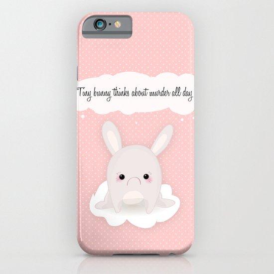tiny bunny iPhone & iPod Case