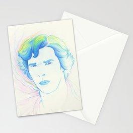 Rainbow Sherlock Stationery Cards