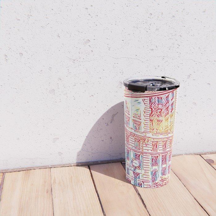Sao Paulo - Pop Art 008 Travel Mug