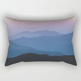 Sunset in the Annapurnas Rectangular Pillow