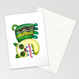 Screaming Kitty Stationery Cards