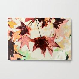 Autumn Leaves Painting 2 Metal Print