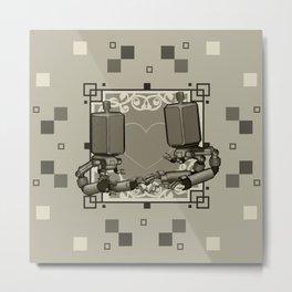 042-153 Metal Print