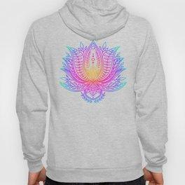 Botanical Lotus - Rainbow Hoody