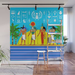 Egyptian Day Wall Mural