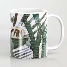Paris Metro Sketch Chatelet Coffee Mug