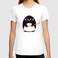 hockey T-shirts featuring Hockey penguin by Jaxxx