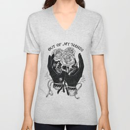 Out of My Hands Unisex V-Neck