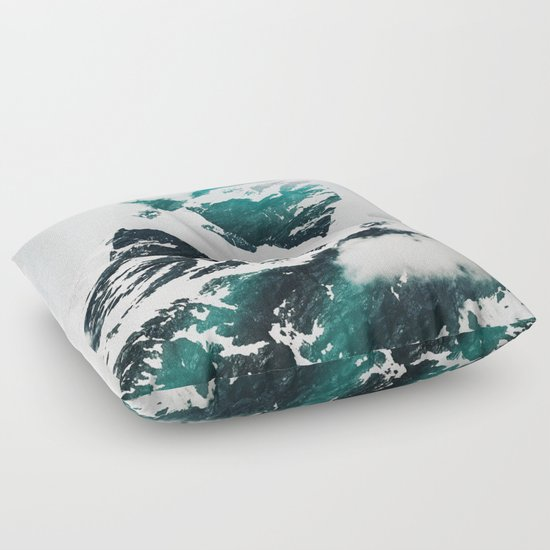 My head is an animal Floor Pillow by Lostfog Co? Society6