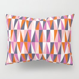 a harlequin party in pink! Pillow Sham