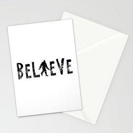 I Believe Yeti Bigfoot Sasquatch Stationery Cards