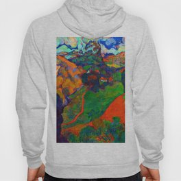 Charles Laval Landscape of Martinique Hoody