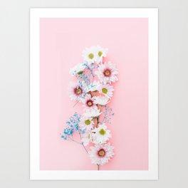Sprig Flowers Art Print