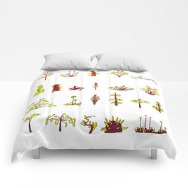 Plants plants plants Comforters