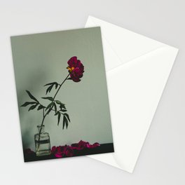 Fading Peonie Stationery Cards