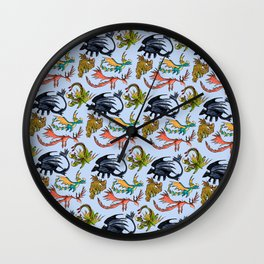 Dragon Skin Wall Clock